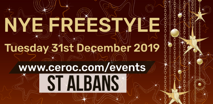 Ceroc St Albans NEW YEARS EVE Freestyle