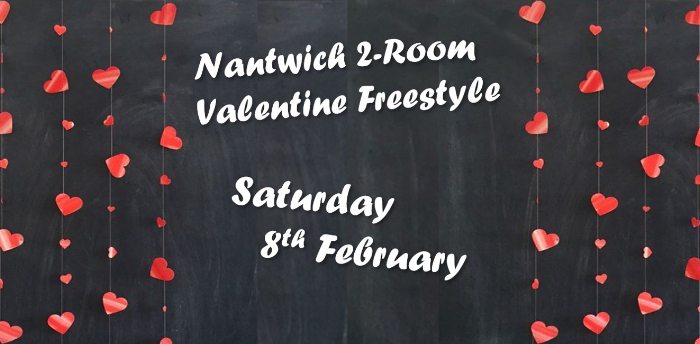 Ceroc Addiction Nantwich 2 Room Valentines Freestyle