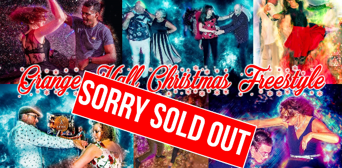 SOLD OUT Grange Hall Christmas Freestyle