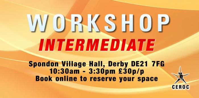 Intermediate Workshop - Derby