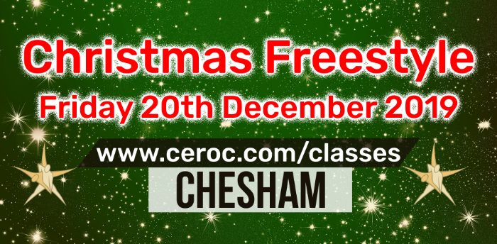 Ceroc Chesham CHRISTMAS FREESTYLE Fri 20 Dec 2019