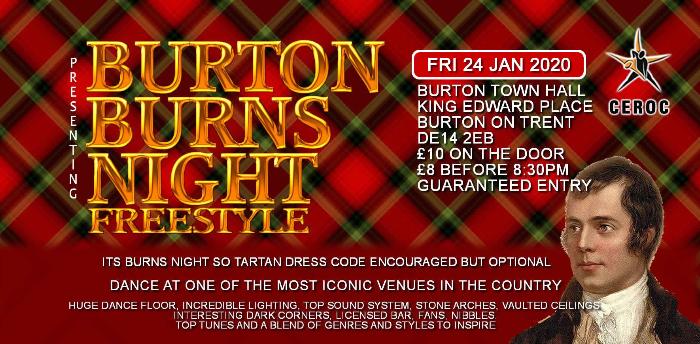 Burton Burns Night Freestyle