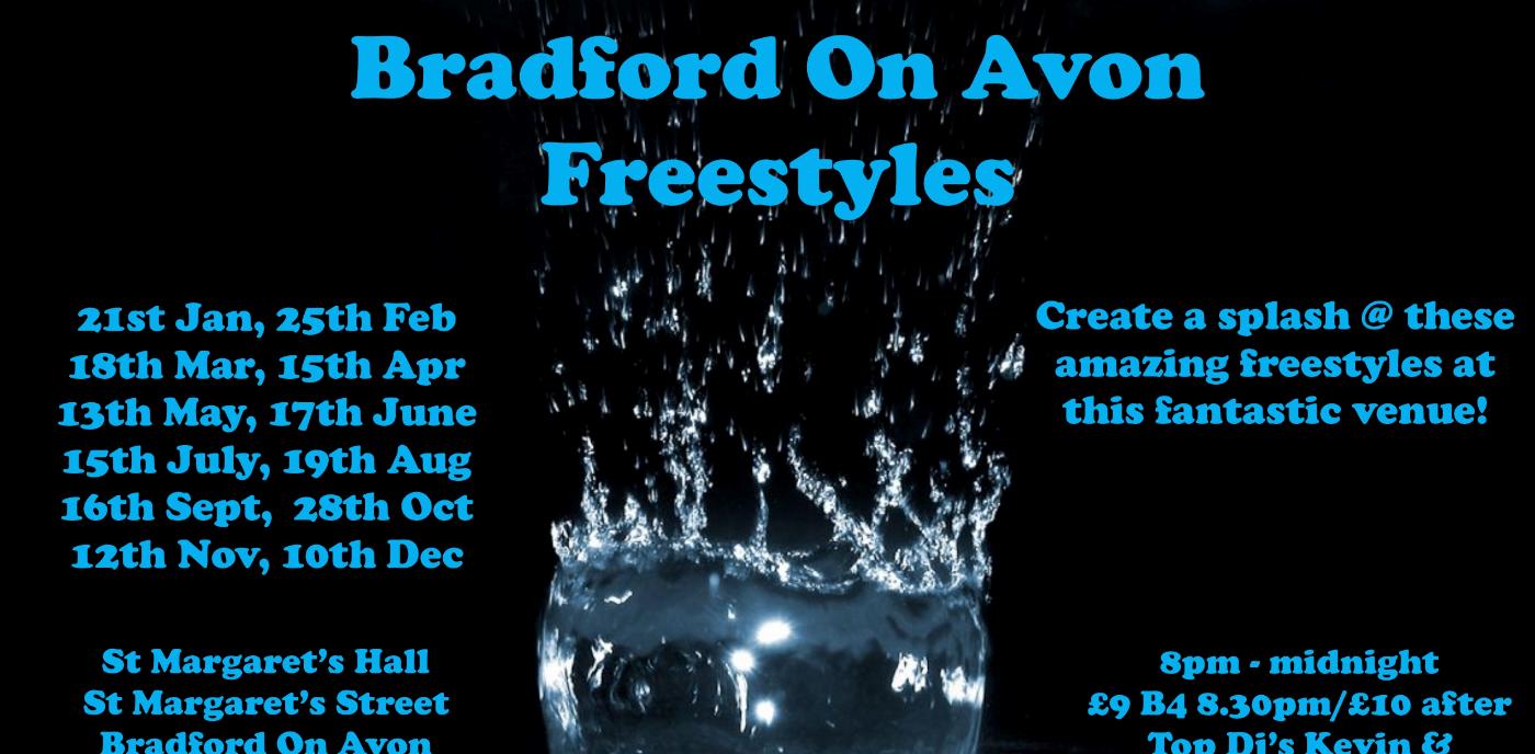 Bradford on Avon freestyle