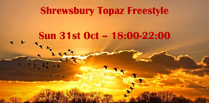 Shrewsbury Topaz Hall Sunday Freestyle