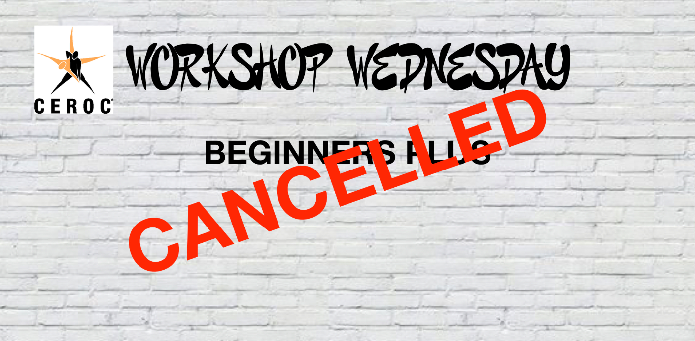 Stirling Workshop Wednesday - Beginners Plus CANCELLED