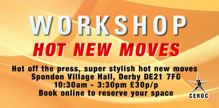 Hot New Moves Workshop - Derby