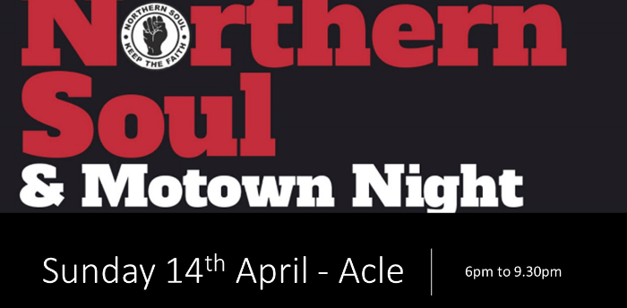Motown & Northern Soul Evening