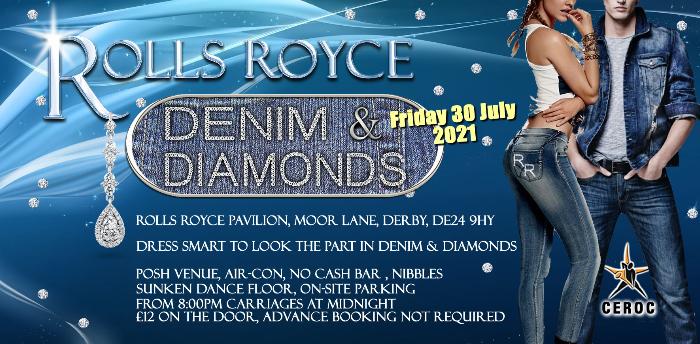 Rolls Royce Derby Denim and Diamonds Freestyle