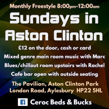 Dance at ASTON CLINTON - Red Kite Pavilion - Sunday Freestyle