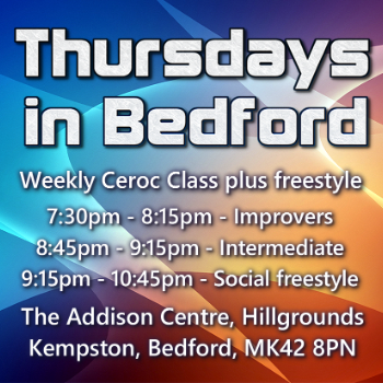 Learn to Dance at Ceroc Bedford