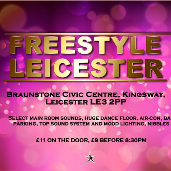 Dance at LEICESTER - Civic Centre - Friday Freestyle