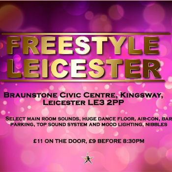 Dance at LEICESTER - Civic Centre - Saturday Freestyle