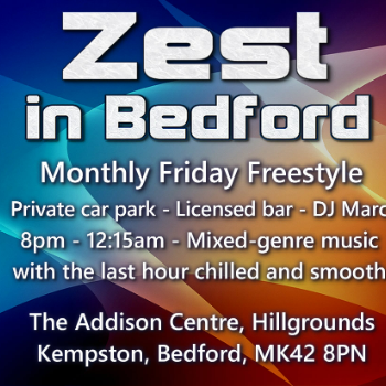 Dance at BEDFORD - The Addison Centre - Friday Freestyle