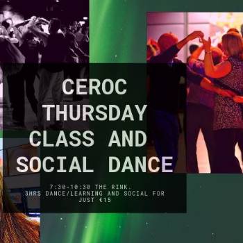 Learn to Dance at Ceroc Dublin - The Rink