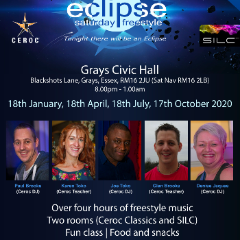 Dance at ESSEX - Grays Civic Hall - Saturday Freestyle